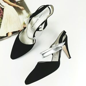 Via Spiga Suede Made In Italy Pumps